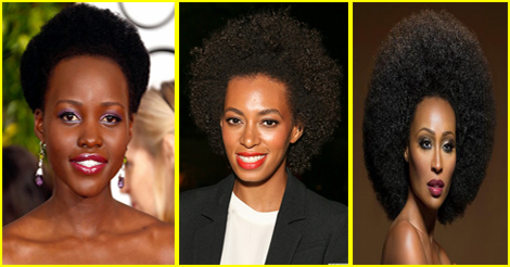 afro - petite ou grande coupe afro