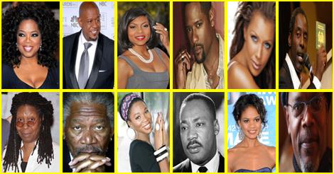 Les origines des célébrités afro-américaines