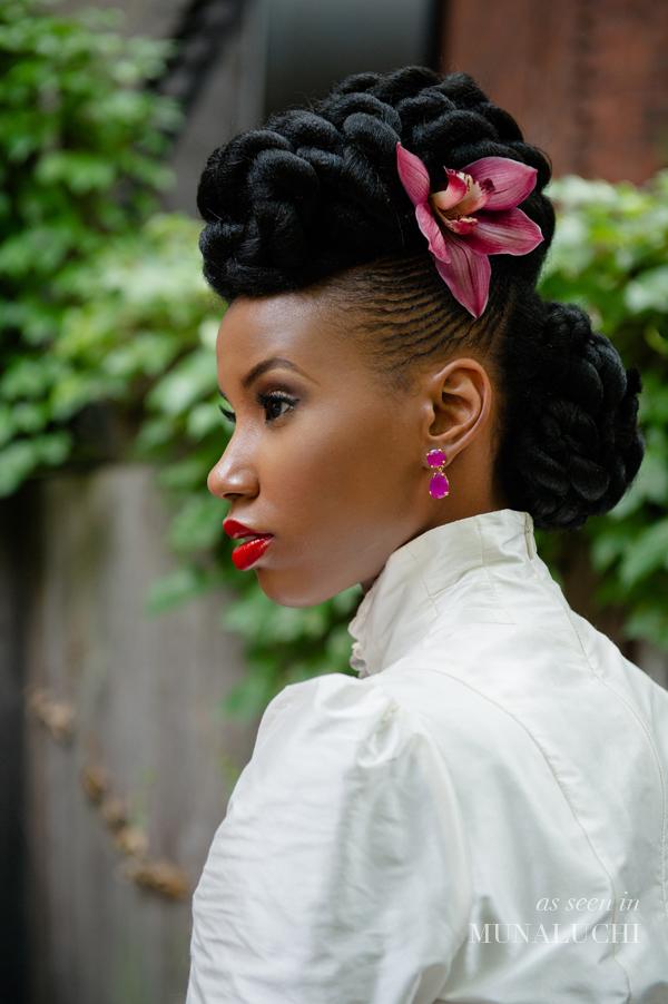 Maquillage et coiffure de mariage -femme noire et métisse (3)