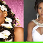 Side braid wedding hairstyles for black women