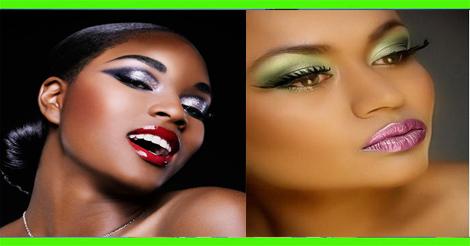 idée - maquillage beauté peau noire et métisse