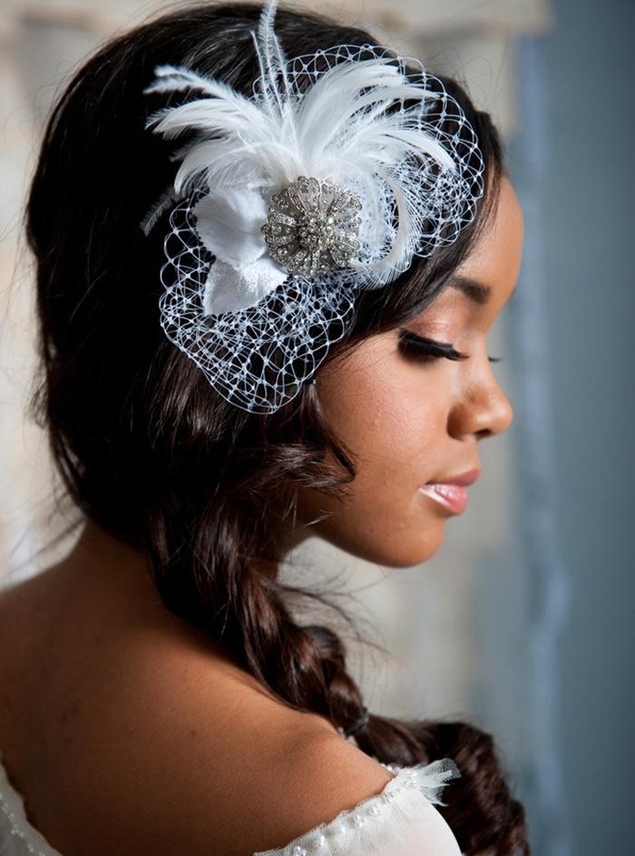 Noiva18 - Coiffure mariage tresse sur le cote ...