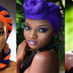 12 façons d'attacher le foulard, headwrap et turban