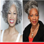 How to style gray hair for mature Black Women?