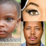 Les noirs aux yeux noisette, un phénomène rare