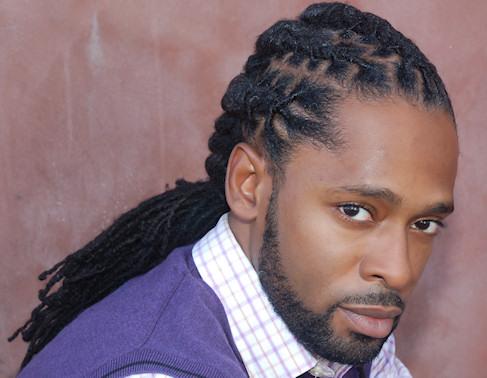 coiffure homme noir locks