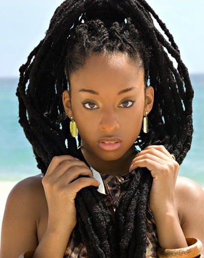 locks Beautiful with black women