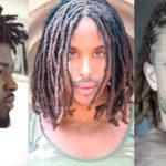 12 hommes sublimes avec des dreadlocks