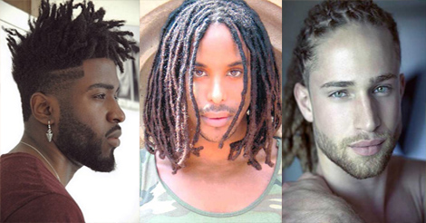 hommes dreadlocks , man with dreadlocks