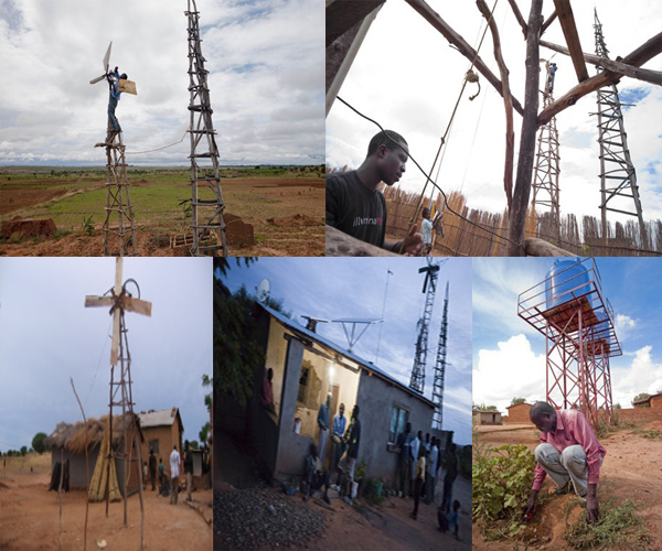 william-kamkwamba-construction eolienne-electricite-village-malawi
