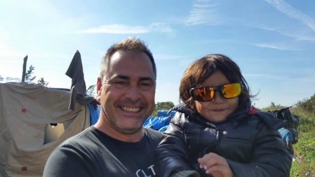 rob lawrie -bahra 4 ans - camp de migrant de calais