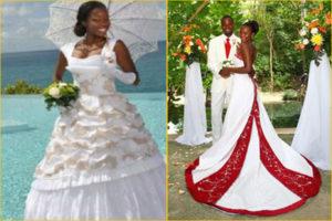 Robes De Mariée Antillaises Et Caribéennes Traditionnelles