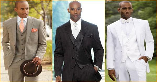 10 costumes de mariage pour homme noir et métis.