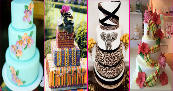7 magnifiques gâteaux de mariage traditionnel – Inspiration Afrique et Caraïbes.