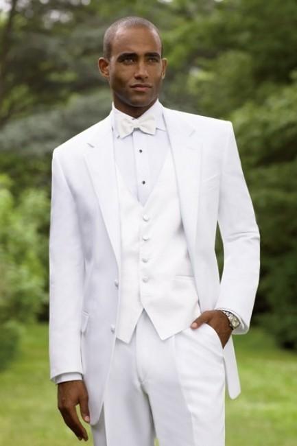 homme marié costume blanc