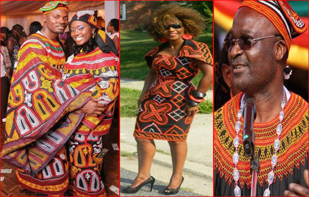 toghu - traditionnal clothes cameroon