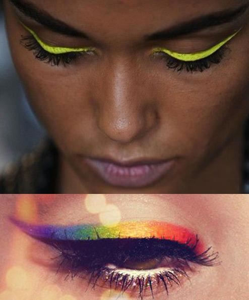 eyeliner jaune