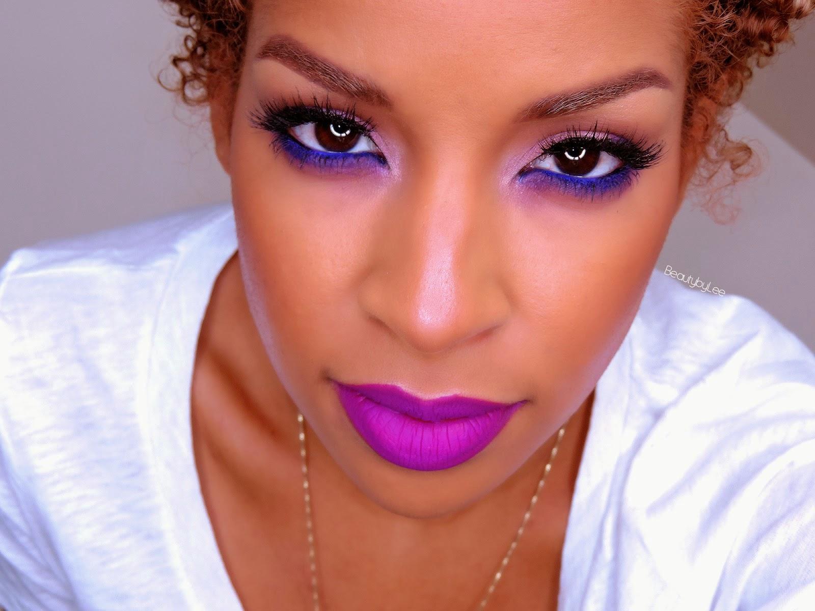 eyeliner violet