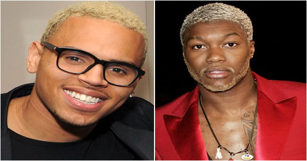 homme noirs cheveux blonds , Black men