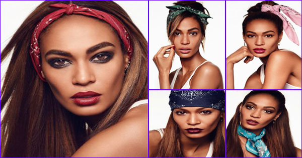joan smalls bandana