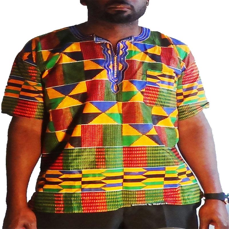 t-shirt-kente cultureafro