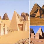 Les pyramides de Méroé au Nord-Soudan – royaume des pharaons noirs.