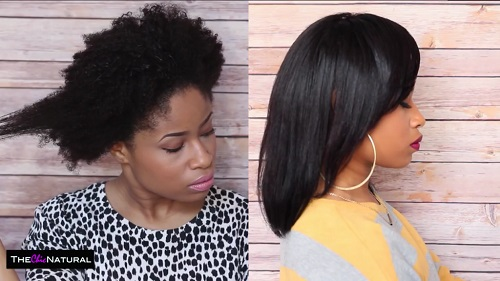 Straight Hairstyles For Black Women Afroculture Net