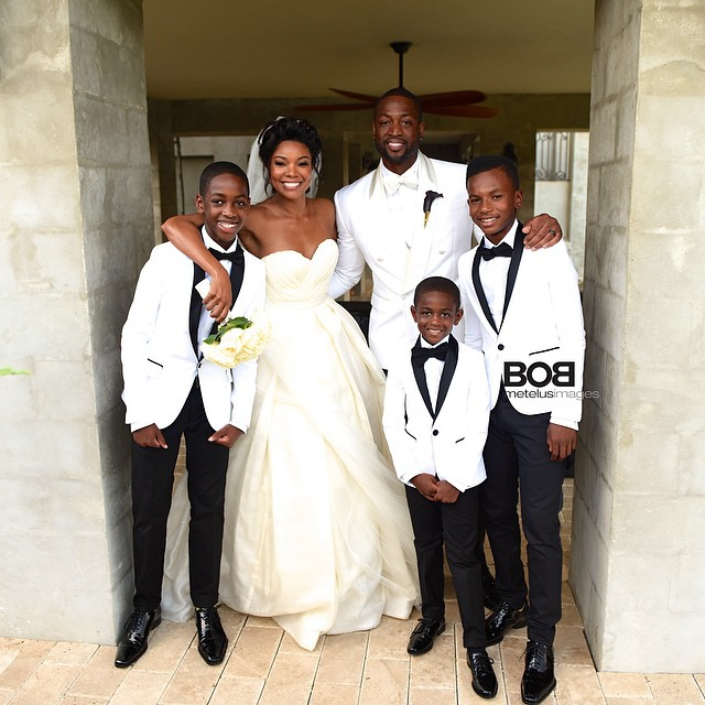 gabrielle-union-dwayne-wade-mariage-famille