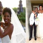 Mariage de stars : Gabrielle Union & Dwayne Wade.