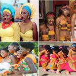 Robes demoiselles d'honneur – Mariage africain.