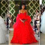 Arlenis Sosa : 3 robes de mariée signées Oscar de la Renta.