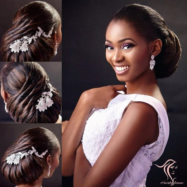 coiffure de mariage pour femme africaine. Black Bedroom Furniture Sets. Home Design Ideas