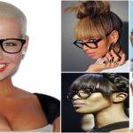 11 femmes à lunettes noires et métisses ultra sexy.