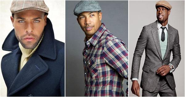 f3a163ff Elegant black men with Flat Cap – Afroculture.net