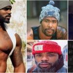 10 hommes noirs et métis virils et sexy avec un bonnet.