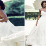 Robe de mariée de l'actrice Gabrielle Union.