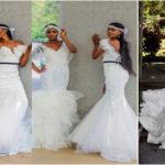 Robes de mariée : 10 femmes noires et métisses sublimes en mariée.