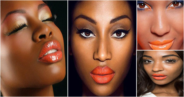rouge-a-levres-orange-femme-noire-orange-lipstick-blackgirl