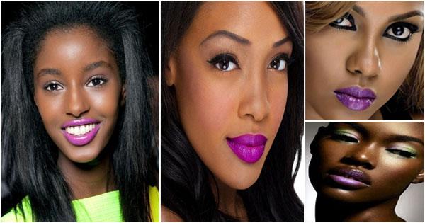 rouge-a-levres-violet-femme-noire-purple-lipstick-blackgirl