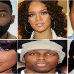 Célébrités noires et métisses aux yeux noisette.