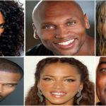 Célébrités noires et métisses aux yeux verts.