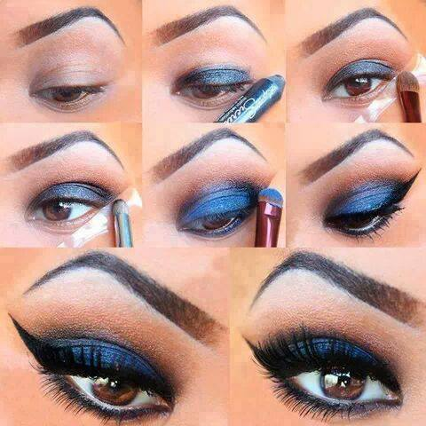 maquillaje-tonos-azules-metalizados