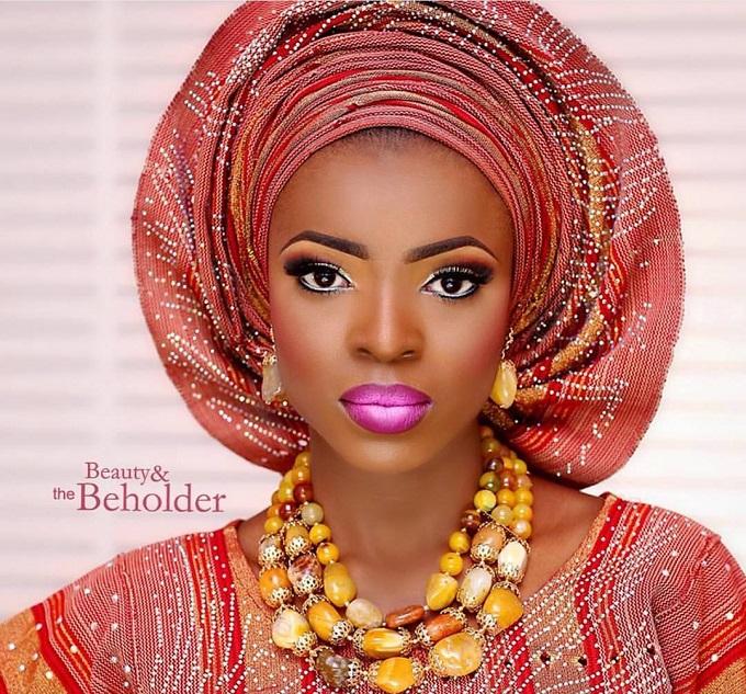 maquillage femme nigeriane