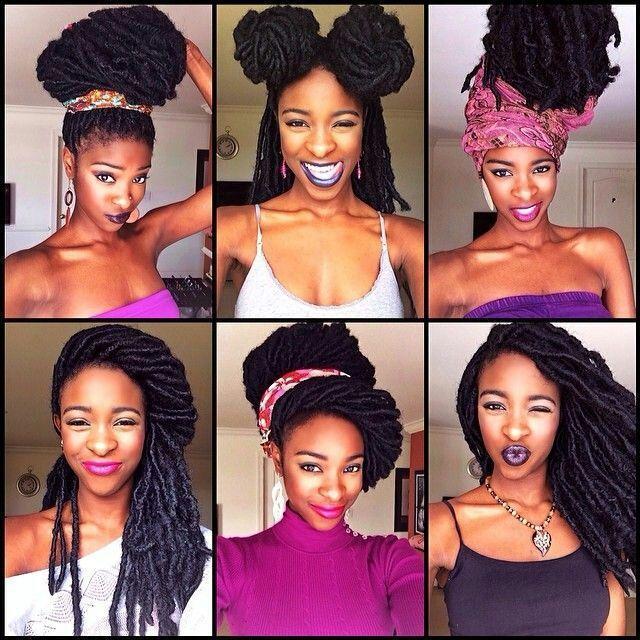 Fausses Locks Coiffure Femme Noire Et Metisse Afroculture Net