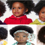 Afro hairstyles for black baby girl hair