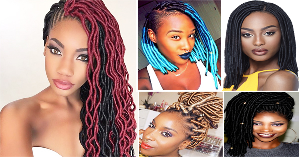 Faux Locs Hairstyles For Black Women Afroculture Net