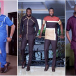 Mode africaine homme : collection « Afropolitan three piece » de Vanskere.