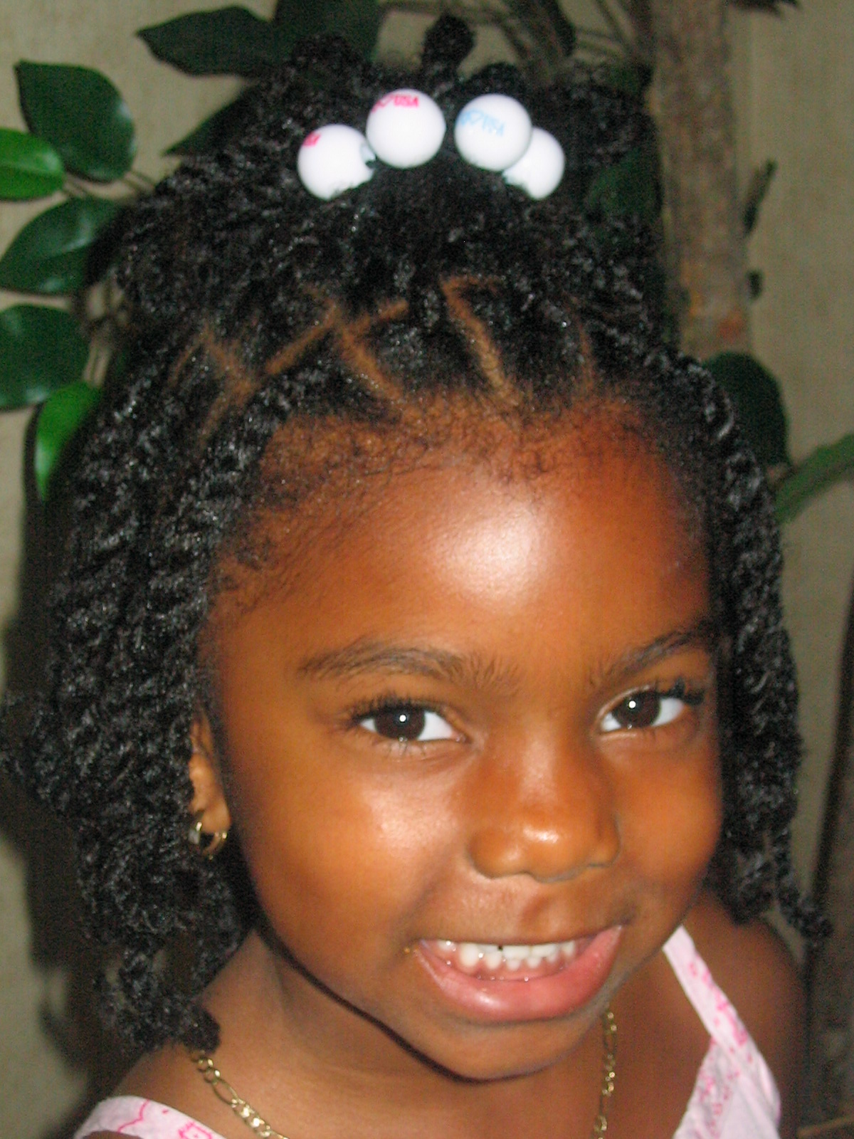 Twist Hairstyles for Black Baby Girl | Kids Styles – Afroculture.net