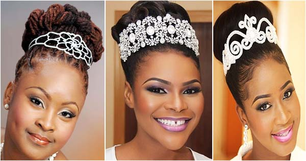 10 accessoires de cheveux mariage pour femmes noires. Black Bedroom Furniture Sets. Home Design Ideas