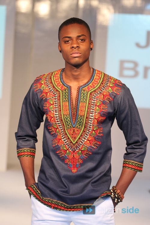 James Brendan at The 2nd Africa Fashion Week London hosted at Spitalfields Market featuringMademoiselle, Aglaia, Rouch by Ronke, Elfrida, House of Marie, Ketere, L'emiral Couture, Rya­‐V Jewellery.